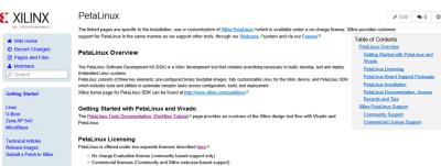 Xilinx wiki petalinux